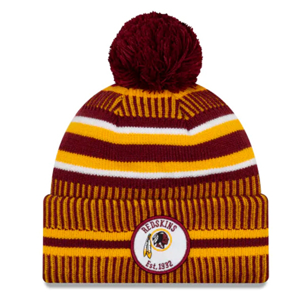 New Era Redskins Onfield Hm Beanie Red