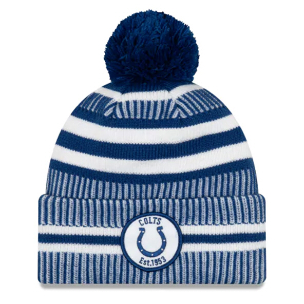 New Era Colts Onfield Hm Beanie Blue