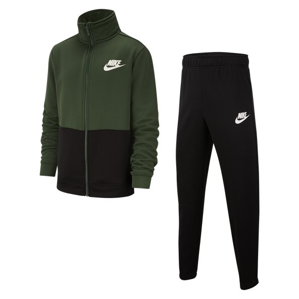 Nike Swoosh Poly Boys' Tracksuit, Green
