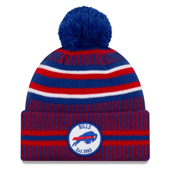 New Era Bills Onfield Hm Beanie Blue