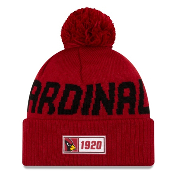 New Era Cardinal Onfield Road Beanie Red