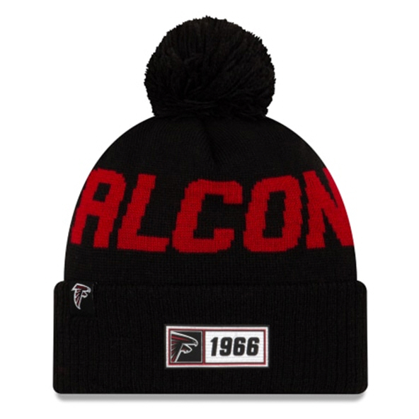 New Era Falcons Onfield Road Beanie Blk