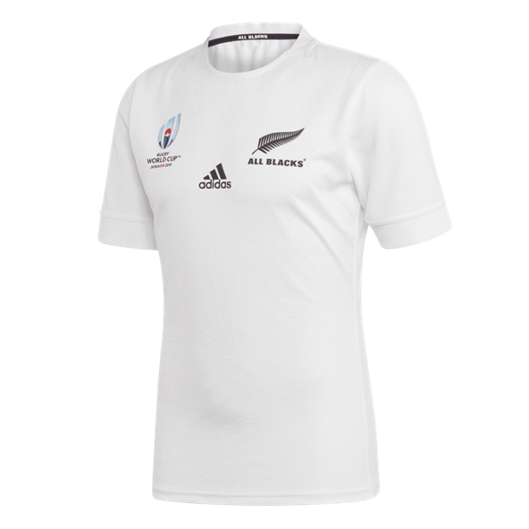 adidas All Blacks RWC19 Away Jersey, White