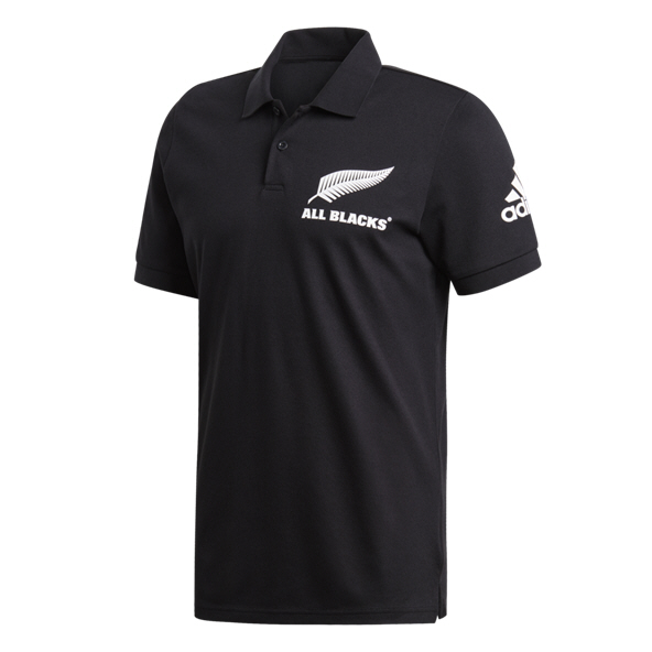 adidas All Blacks 2019 Polo, Black