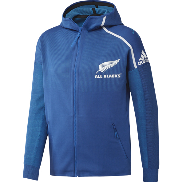 adidas All Blacks RWC19 Anthem Jacket, Blue