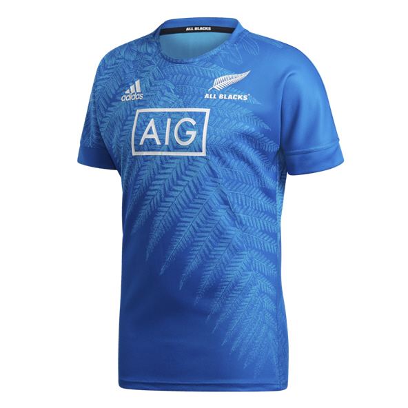 adidas All Blacks RWC19 Training Jersey, Blue