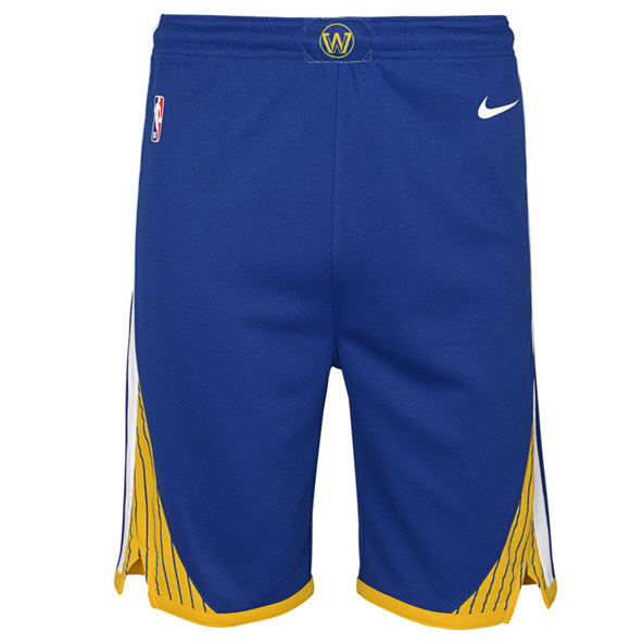 Nike Warriors 19 Kids Shorts Blue
