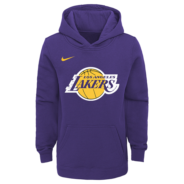 Nike Lakers Kids Hoody Purple