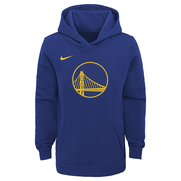 Nike Warriors Kids Hoody Blue