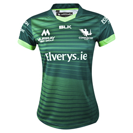 BLK Connacht 2019 Women's Home Jersey, Green