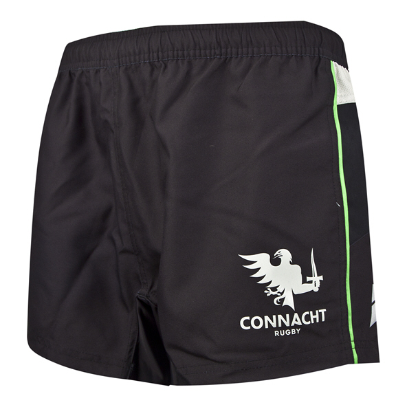 BLK Connacht 19 Alt Kids Shorts Black