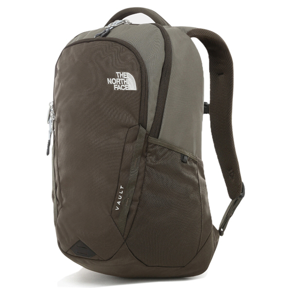 The North Face Vault Backpack, Green/Grey