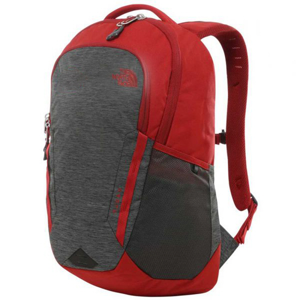 The North Face Vault Backpack, Grey/Red