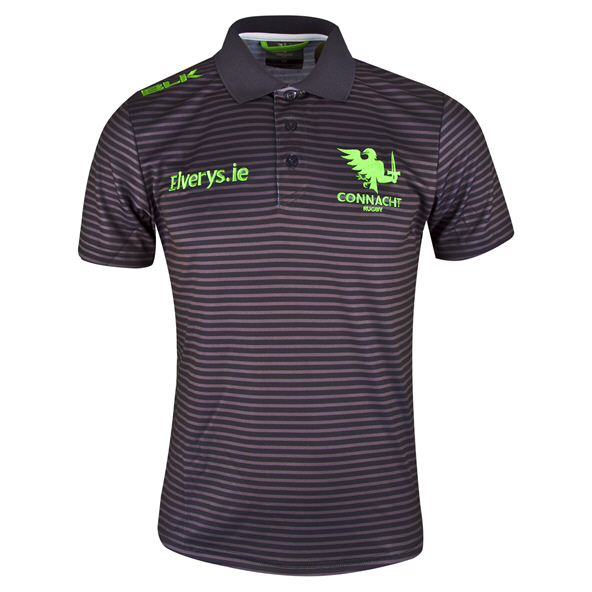 BLK Connacht 2019 Sport Polo, Grey