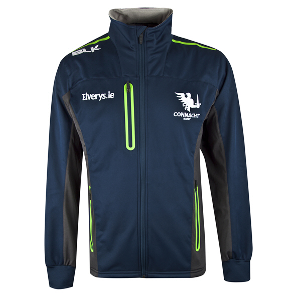 BLK Connacht Carbon Pro Jacket Navy