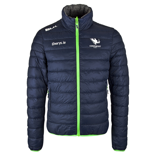 BLK Connacht 19 Puffer Jacket Navy