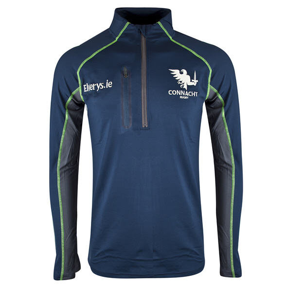 BLK Connacht 19 QZ Warm Up Top Navy