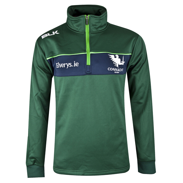 BLK Connacht 19 Warm Up Jacket Green