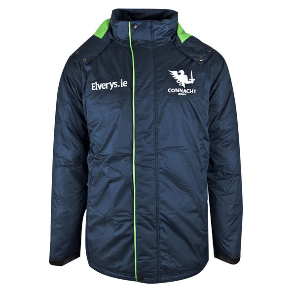 BLK Connacht 19 Coaches Jacket Navy
