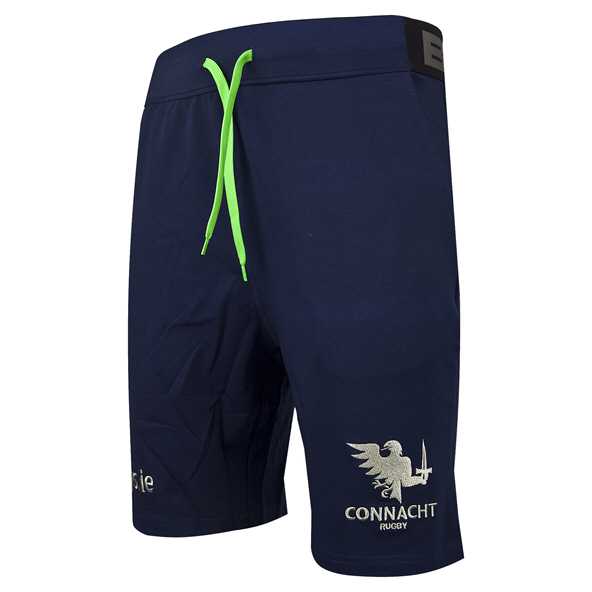 BLK Connacht 19 Fleece Shorts Navy