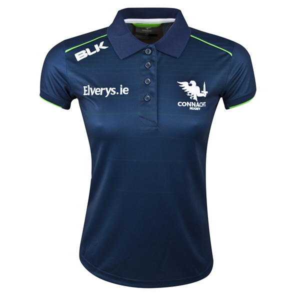 BLK Connacht 2019 Women's Polo, Navy