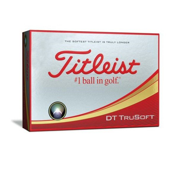 Titleist DT Trusoft Dozen Golf Ball White