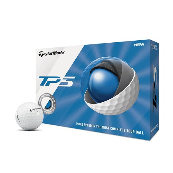 Taylormade TP5 Golf Ball White