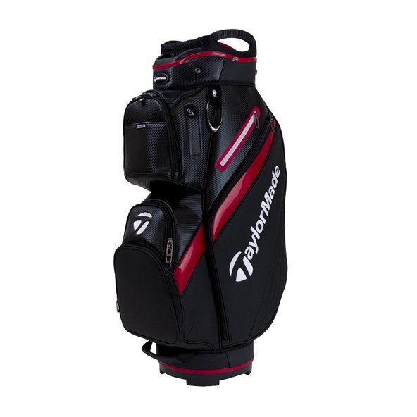 Taylormade TM19 Deluxe Cart Bag Black/Red