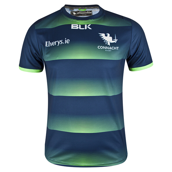 BLK Connacht 19  Kids Training Tee Navy