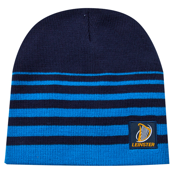 Tradcraft Leinster Striped Beanie Navy