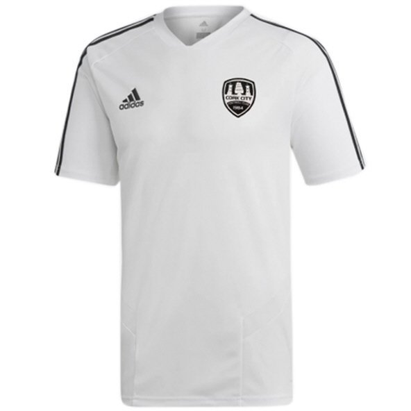 adidas Cork City 2019 Training Jersey, White