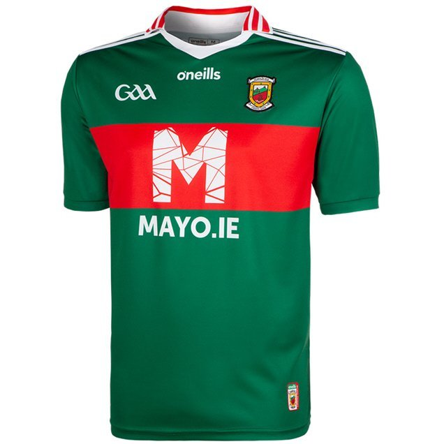 O'Neills Mayo Day Home Jersey, Green