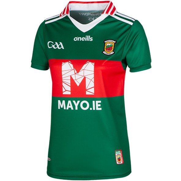 O'Neills Mayo Day Women's Jersey, Green