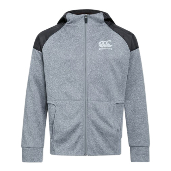 Canterbury Vaposhield Boy Hoody Grey/Red