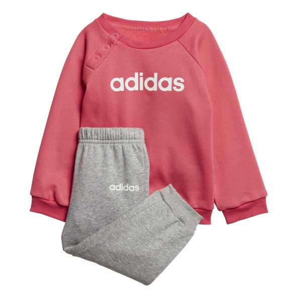 adidas Linear Fleece INF Girls Pant Pink