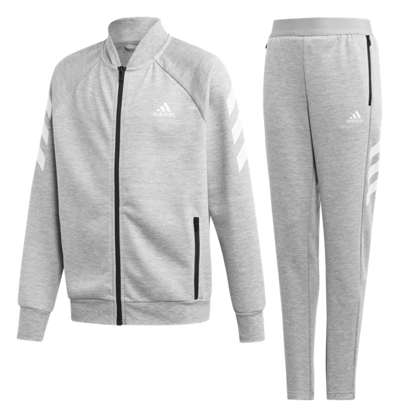 adidas 3S Graphic Boys' Tracksuit, Grey