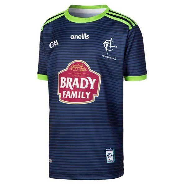 O'Neills Kildare 2019 Kids' Away Jersey, Navy