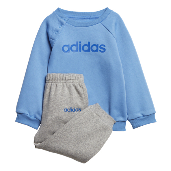adidas Fleece Infant Jogger Blue/Grey