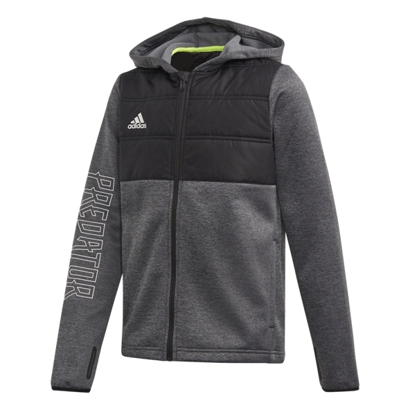 adidas Padded Boys FZ HD Black