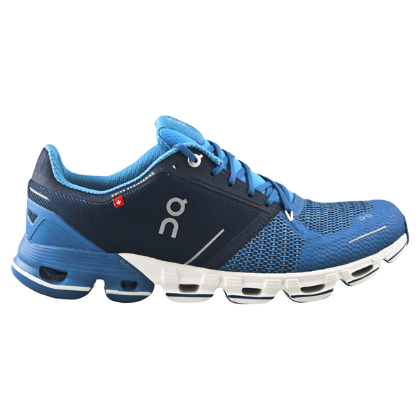 ON Cloudflyer Mens Running Shoe Blue/White