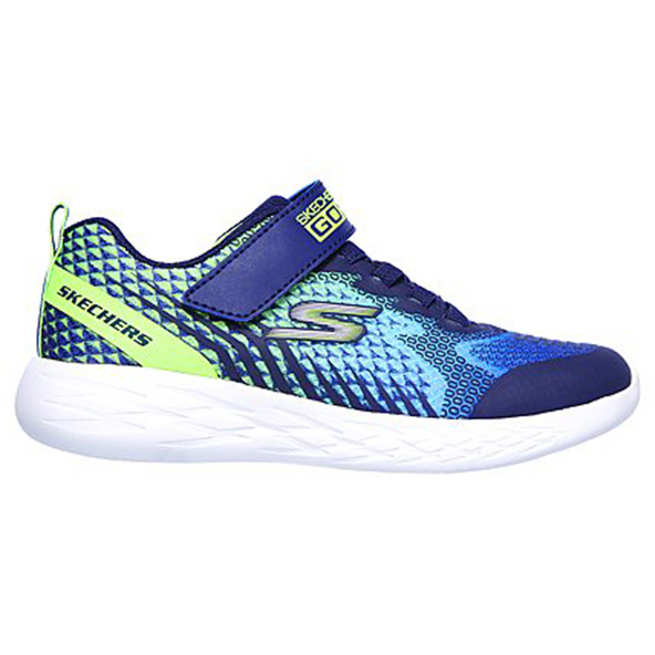 Skechers Go Run 600 Junior Boys' Trainer Navy
