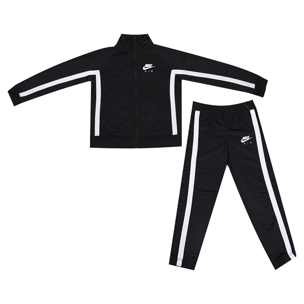 Nike Air Tricot Jnr Boys TSuit Black