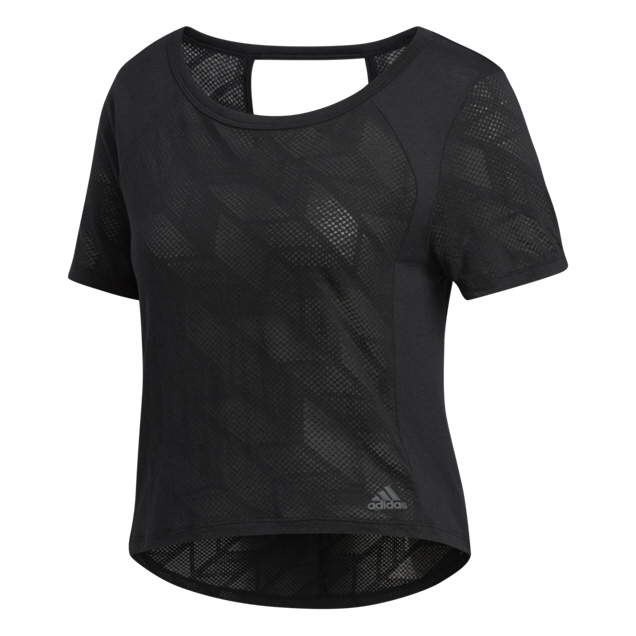 adidas Burnout Women's T-Shirt, Black