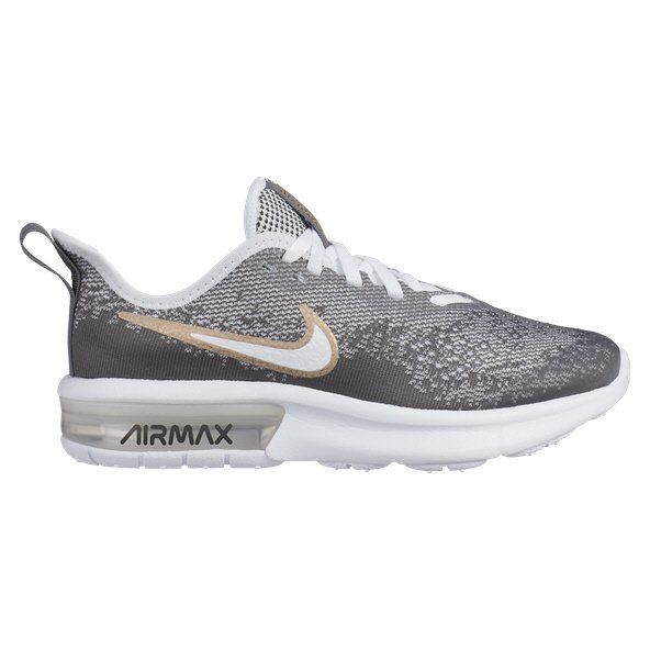 Nike Air Max Sequent 4 EP Girls' Trainer, White