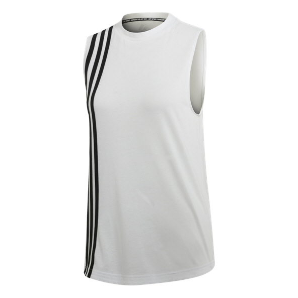 adidas Must Haves 3-Stripes Women's Tank Top, White