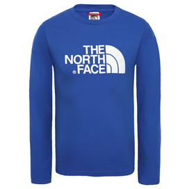 The North Face Easy Boys' T-Shirt, Blue