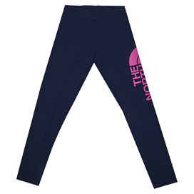 The NorthFace Blend Girls' Leggings Navy