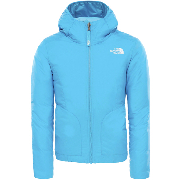The North Face Perrito Girls' Reversible Jacket, Blue