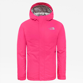 The NorthFace Snowquest Girls' Jacket Pink