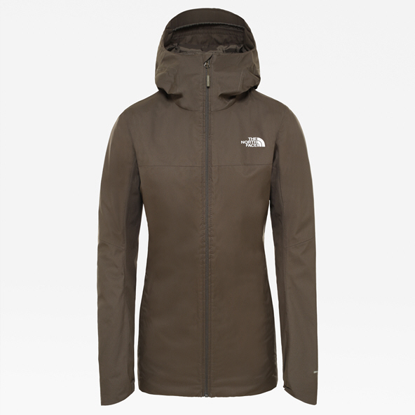 The NorthFace Quest Women's Jacket Green